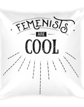 "Femen Pillow ""Femenists Are Cool"""