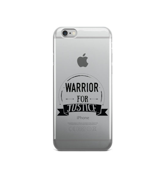 "Femen iPhone Case ""Warrior For Justice"""