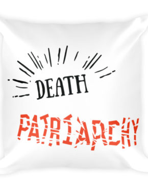 "Femen Pillow ""Death For Patriarchy"""