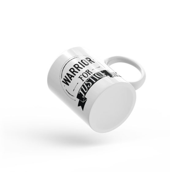 "Femen Mug ""Warrior For Justice"""