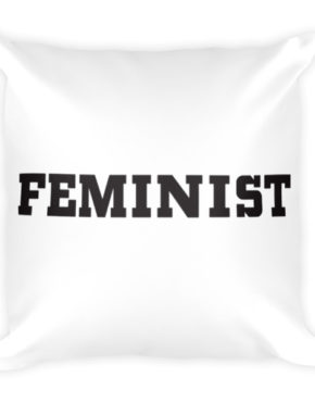 "Femen Pillow ""Feminist"""