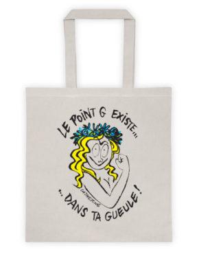 """Femen Bag """"Le Point G Existe Dans Ta Gueule"""""""