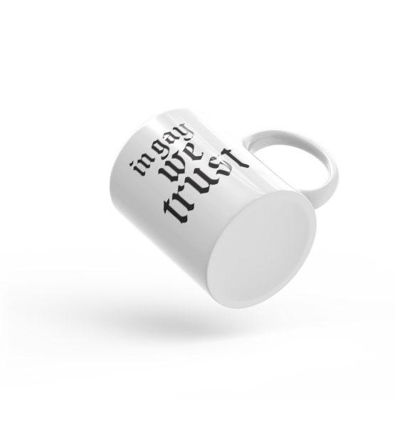 "Femen Mug ""In Gay We Trust II"""