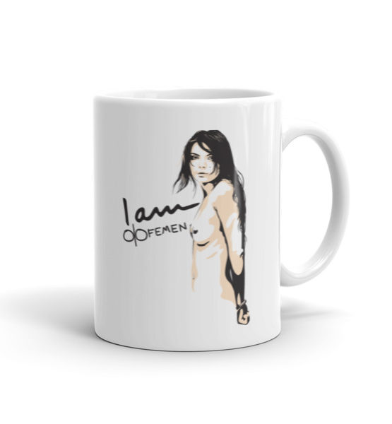 "Femen Mug ""I Am Femen"""