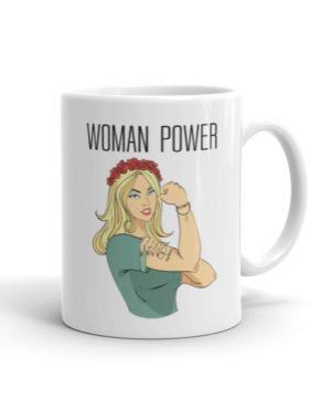"Femen Mug ""Woman Power"""