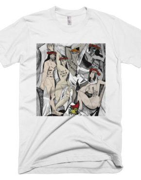 """Femen Man's T-Shirt """"D'avignon"""""""