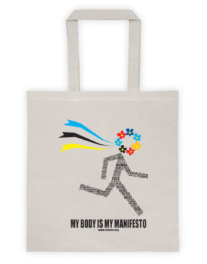 "Femen Bag ""My Body Is My Manifesto"""