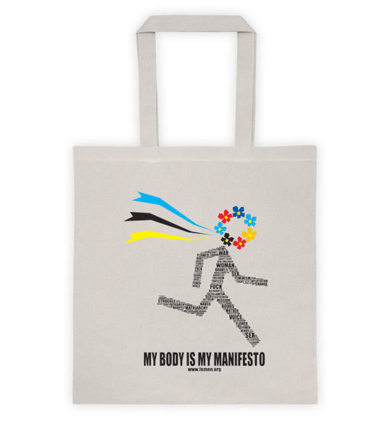 """Femen Bag """"My Body Is My Manifesto"""""""