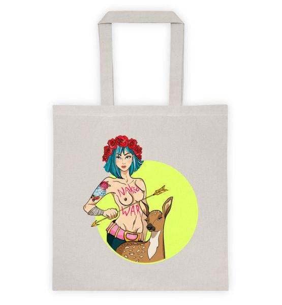 """Femen Bag """"Naked War"""""""