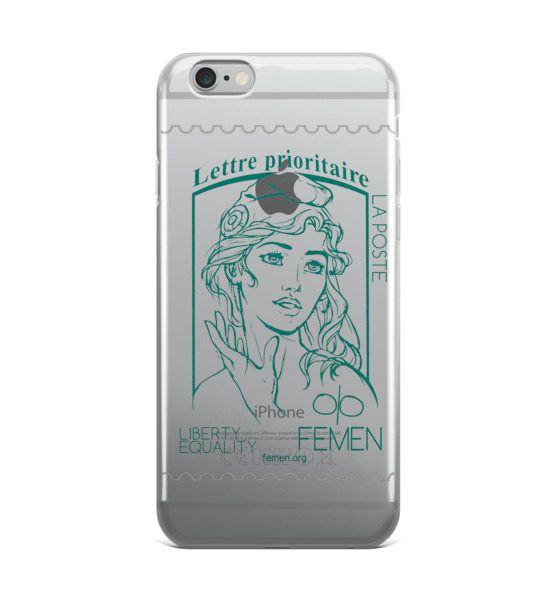 "Femen iPhone Case ""Lettre Prioritaire"""