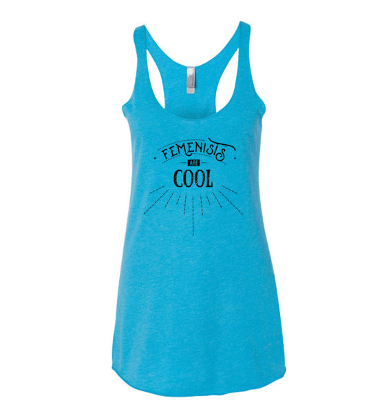 "Femen Woman's Tank Top ""Femenists Are Cool"""