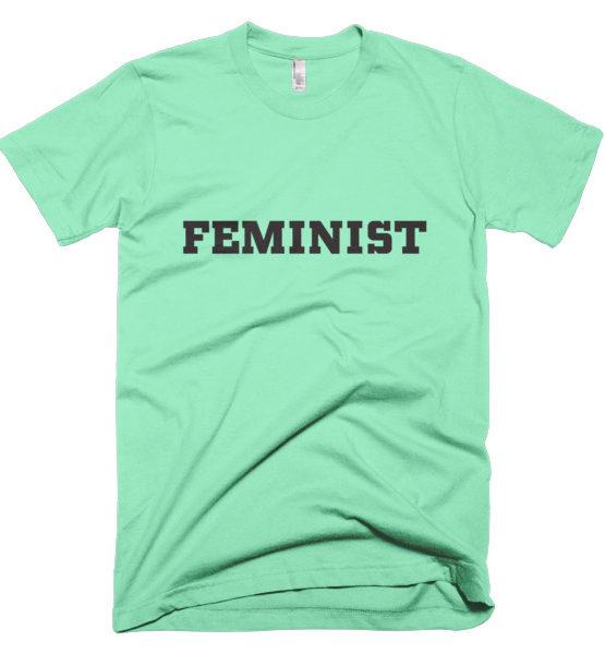 """Femen Man's T-Shirt """"Feminist"""""""