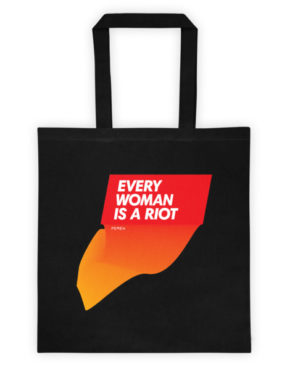 "Femen Bag ""Every Woman Is A Riot II"""