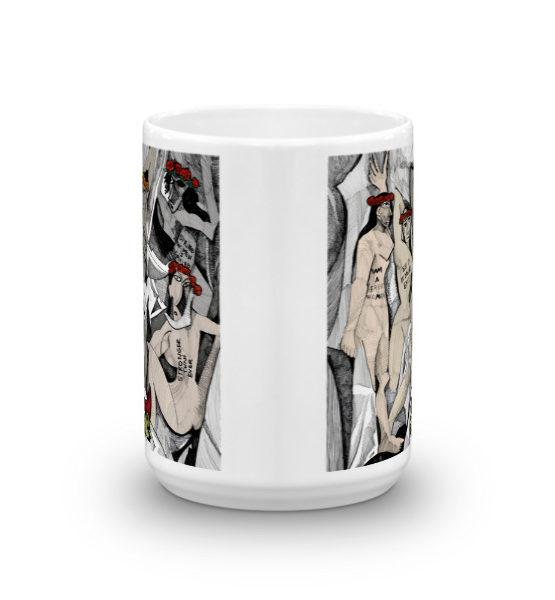 """Femen Mug """"D'avignon"""""""