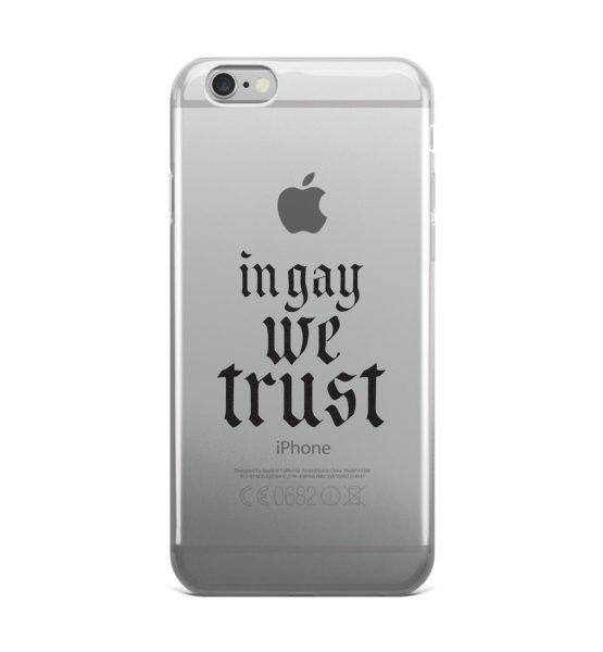 """Femen iPhone Case """"In Gay We Trust II"""""""