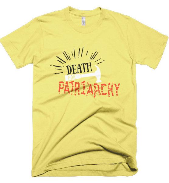 "Femen Man's T-Shirt ""Death For Patriarchy"""