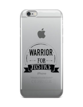 "Femen iPhone Case ""Warrior For Justice"""
