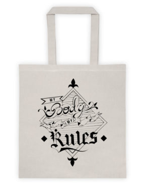 "Femen Bag ""My Body My Rules"""