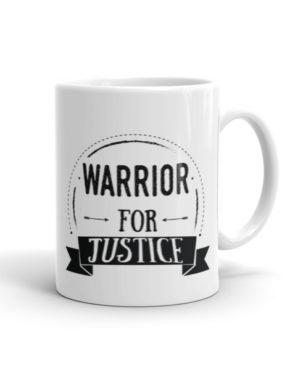 """Femen Mug """"Warrior For Justice"""""""
