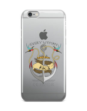 "Femen iPhone Case ""Every Woman Is A Riot"""