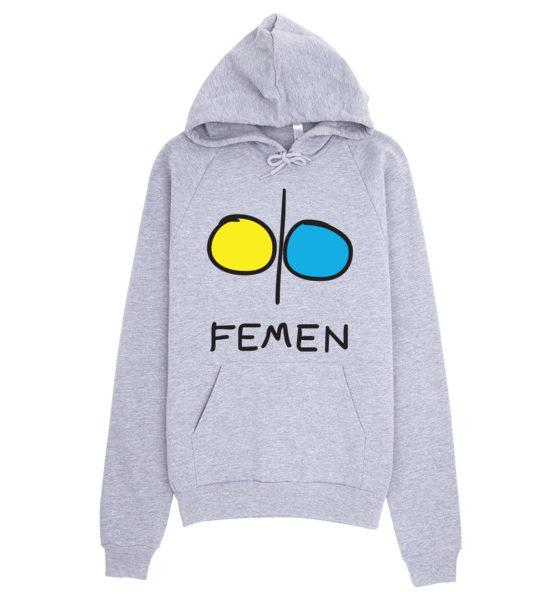 """Femen Unisex Hoodie """"Femen"""""""