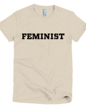 "Femen Woman's T-Shirt ""Feminist"""