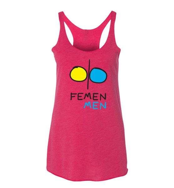 "Femen Woman's Tank Top ""Femen Men"""