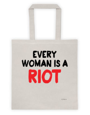 "Femen Bag ""Every Woman Is A Riot III"""