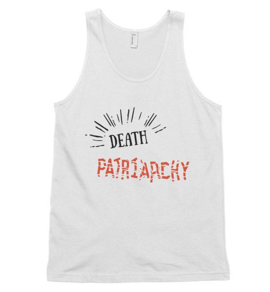 "Femen Unisex Tank Top ""Death For Patriarchy"""
