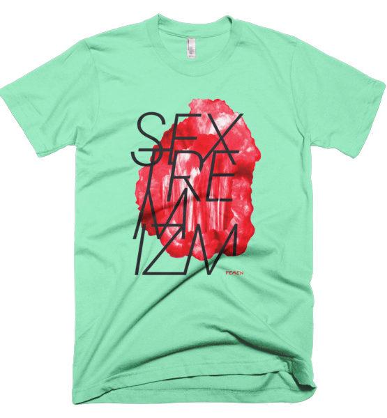 """Femen Man's T-Shirt """"Sextremism"""""""