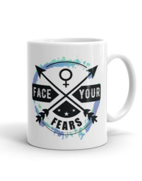 "Femen Mug ""Face Your Fears"""