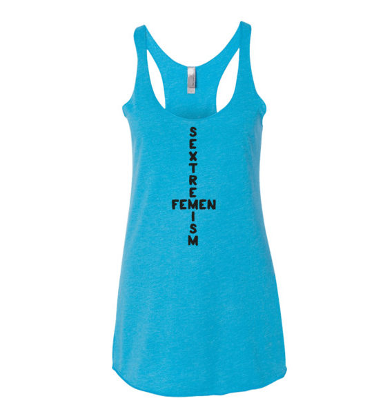 "Femen Woman's Tank Top ""Sextremism II"""