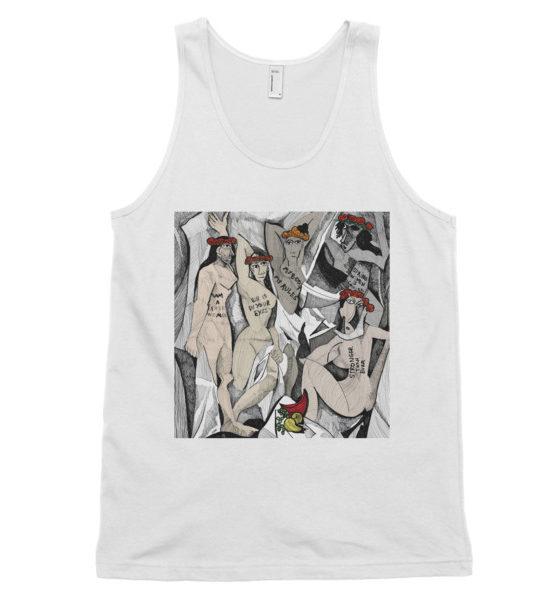 "Femen Unisex Tank Top ""D'avignon"""