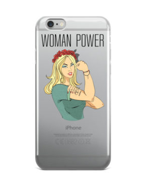 "Femen iPhone Case ""Woman Power"""