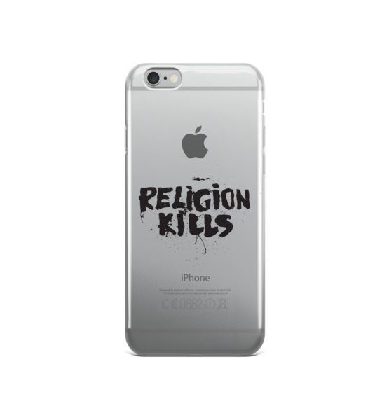 "Femen iPhone Case ""Religion Kills"""