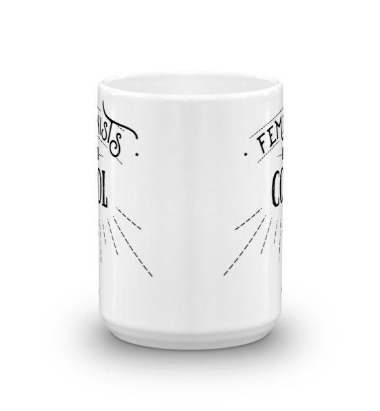 "Femen Mug ""Femenists Are Cool"""