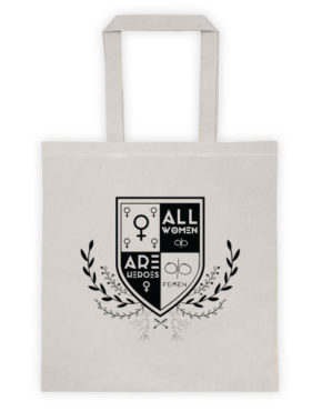 "Femen Bag ""All Women Are Heroes"""
