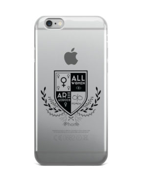 "Femen iPhone Case ""All Women Are Heroes"""
