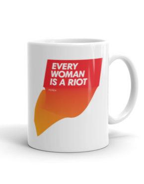 "Femen Mug ""Every Woman Is A Riot II"""