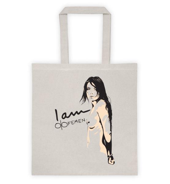 """Femen Bag """"I Am Femen"""""""