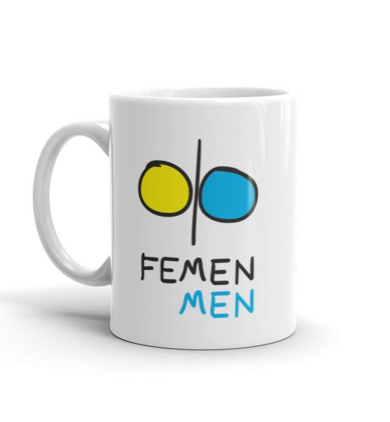 """Femen Mug """"Femen Men"""""""