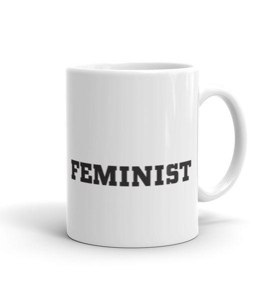 """Femen Mug """"Feminist"""""""