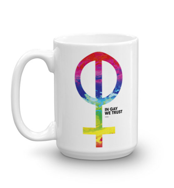 "Femen Mug ""In Gay We Trust"""