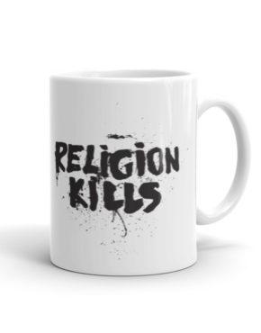 """Femen Mug """"Religion Kills"""""""