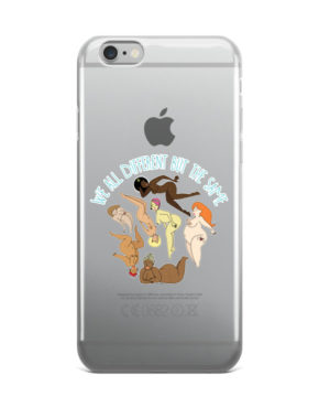 "Femen iPhone Case ""We All Different But The Same"""