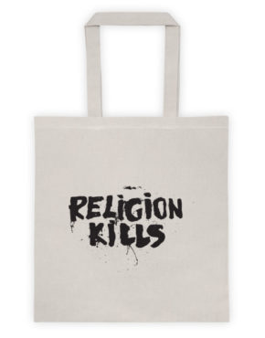 "Femen Bag ""Religion Kills"""