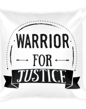 "Femen Pillow ""Warrior For Justice"""