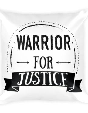"Femen Pillow ""Warrior For Justice"""