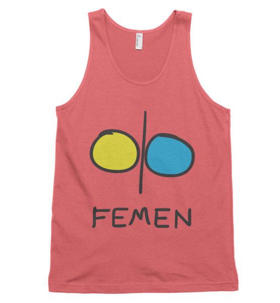 """Femen Unisex Tank Top """"Femen"""""""