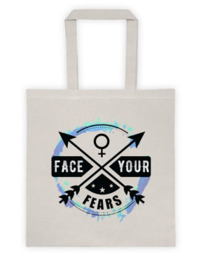 "Femen Bag ""Face Your Fears"""